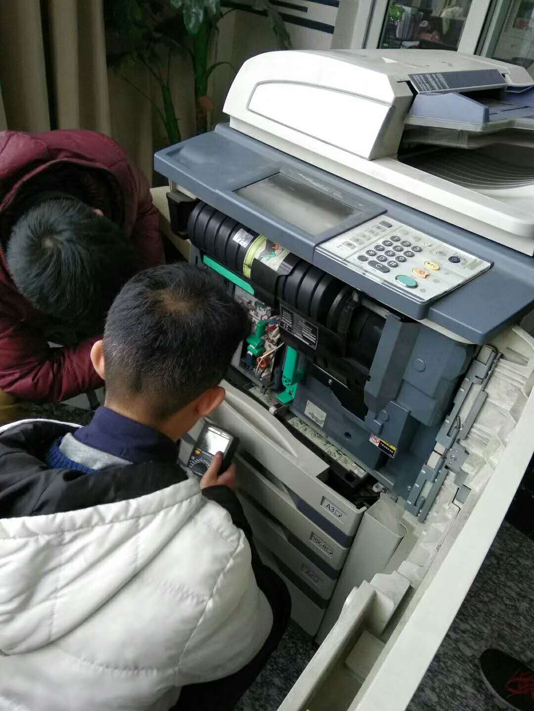 维修佳能激光传真机按键不灵-杭州华力电脑维修小技术