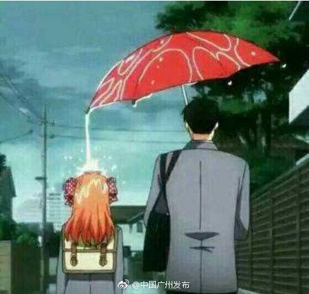 今年,高考美术术科统考有一道题是:雨伞下