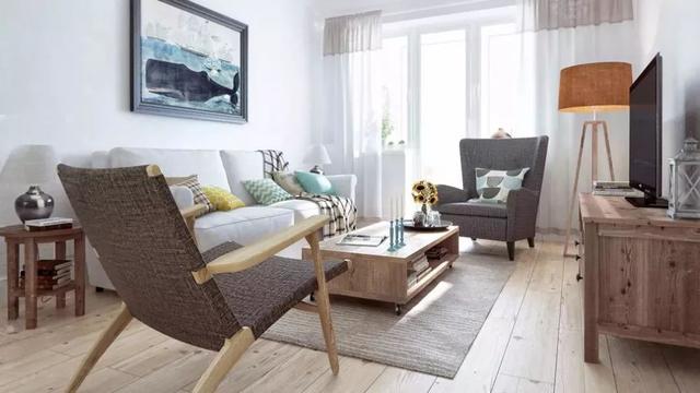温馨而又舒适的木地板设计,小户型的这些空间都能用