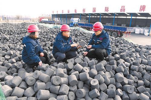 晋武能源有限公司技术员研究如何提高铸造型煤产品质量