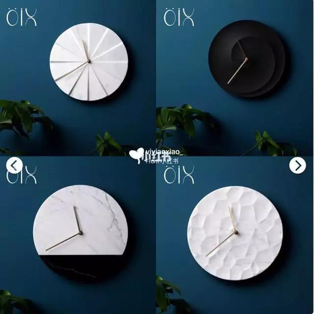 挂钟选择也是货比三家,几家百元内好看的挂钟店铺种草