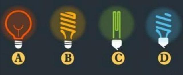 心理测试:四个灯泡哪一个最耗电?测出你哪些方面最优秀?
