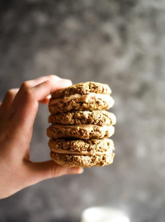 纯燕麦曲奇奶油派,100%无添加剂,味道丝毫不比店里的差