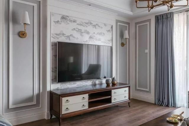 越来越多人不用大理石装修电视墙了,如今都流行用这种材料替代