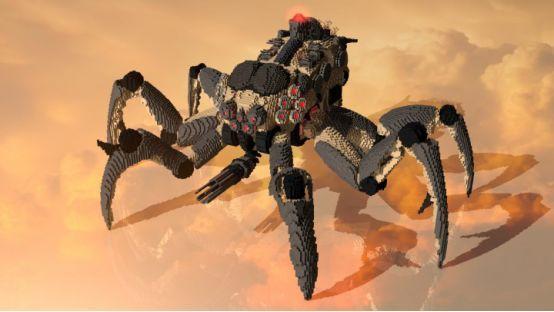 一波超强机器人已出现在《未来世界》