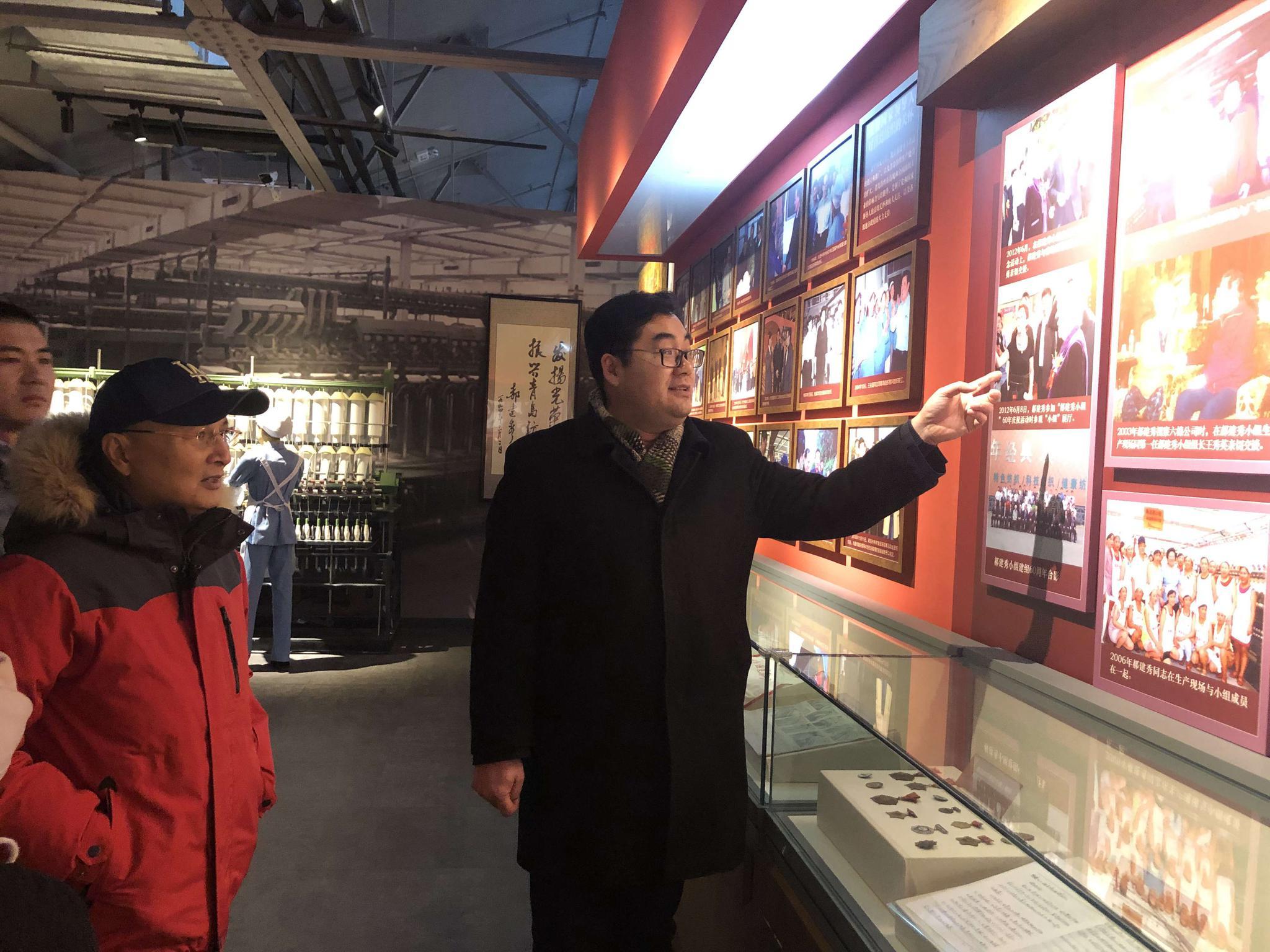 新年伊始——青岛纺织谷迎来香港大导演