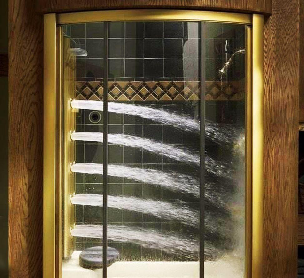 花洒out了! 富人都喜欢用这种卫浴洗澡, 能360度无死角喷水