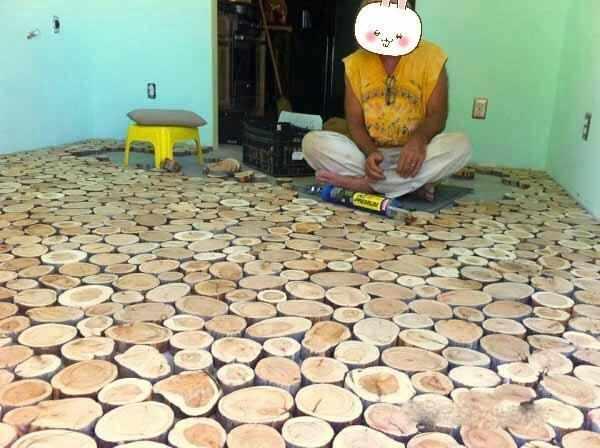 这才是真正的木地板,看上去别具一格,网友:看完后强迫症犯了