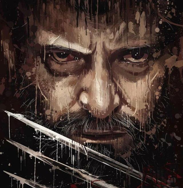国外大神自制超英电影油墨海报,当看到狼叔和洛基的,真虐心了!