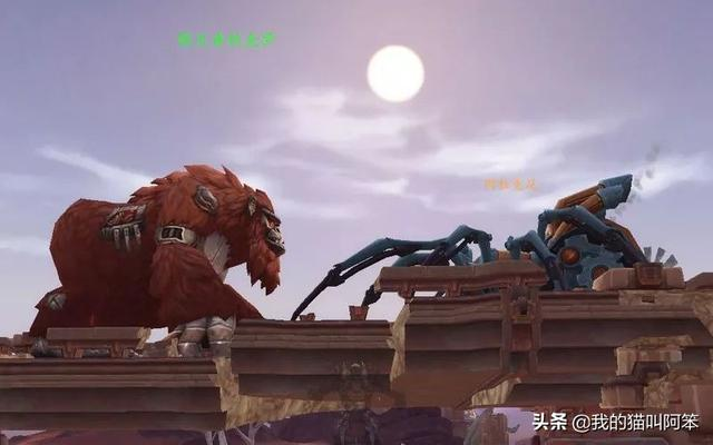 魔兽世界重组的机械大猩猩和蜘蛛宠物,3次沃顿突袭拿一只