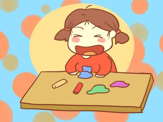橡皮泥很不起眼,但对孩子来说却能塑造培养性格,家长不应阻拦!