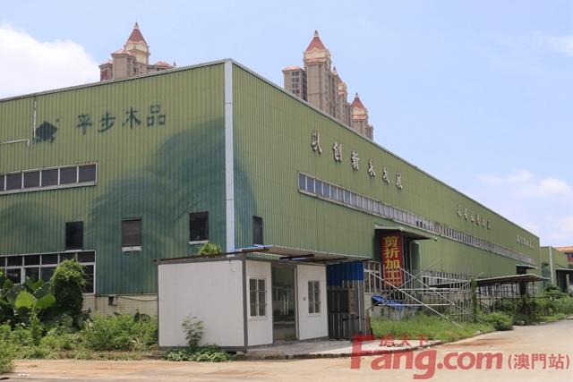 斗門商業地標來了同意率超95%平步木制品廠改造在即