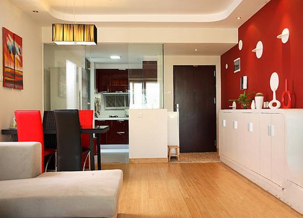 新房98㎡,装修挺简单,没有过多的使用装饰品,效果反倒更耐看