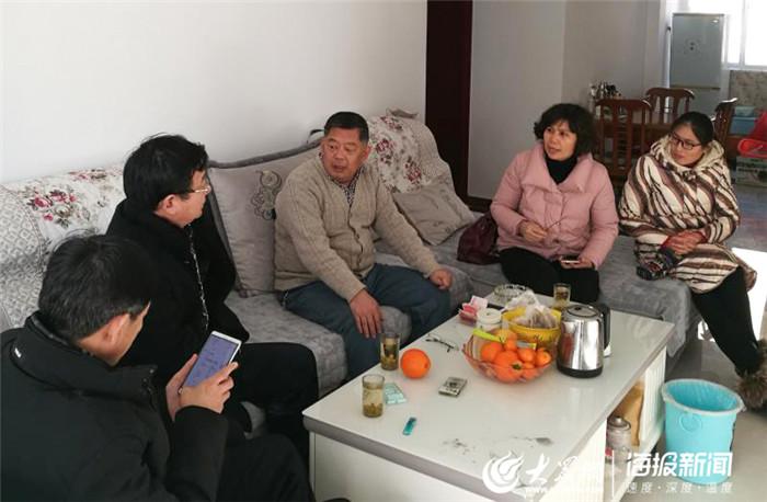菏泽家政职业学院积极开展扶贫送温暖活动