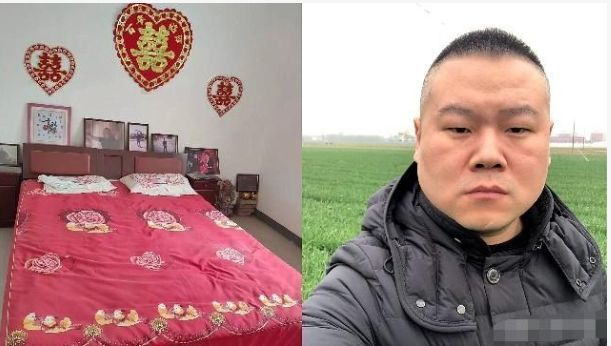 岳云鹏晒自己农村的婚房,床上用品很接地气,床头的照片亮了