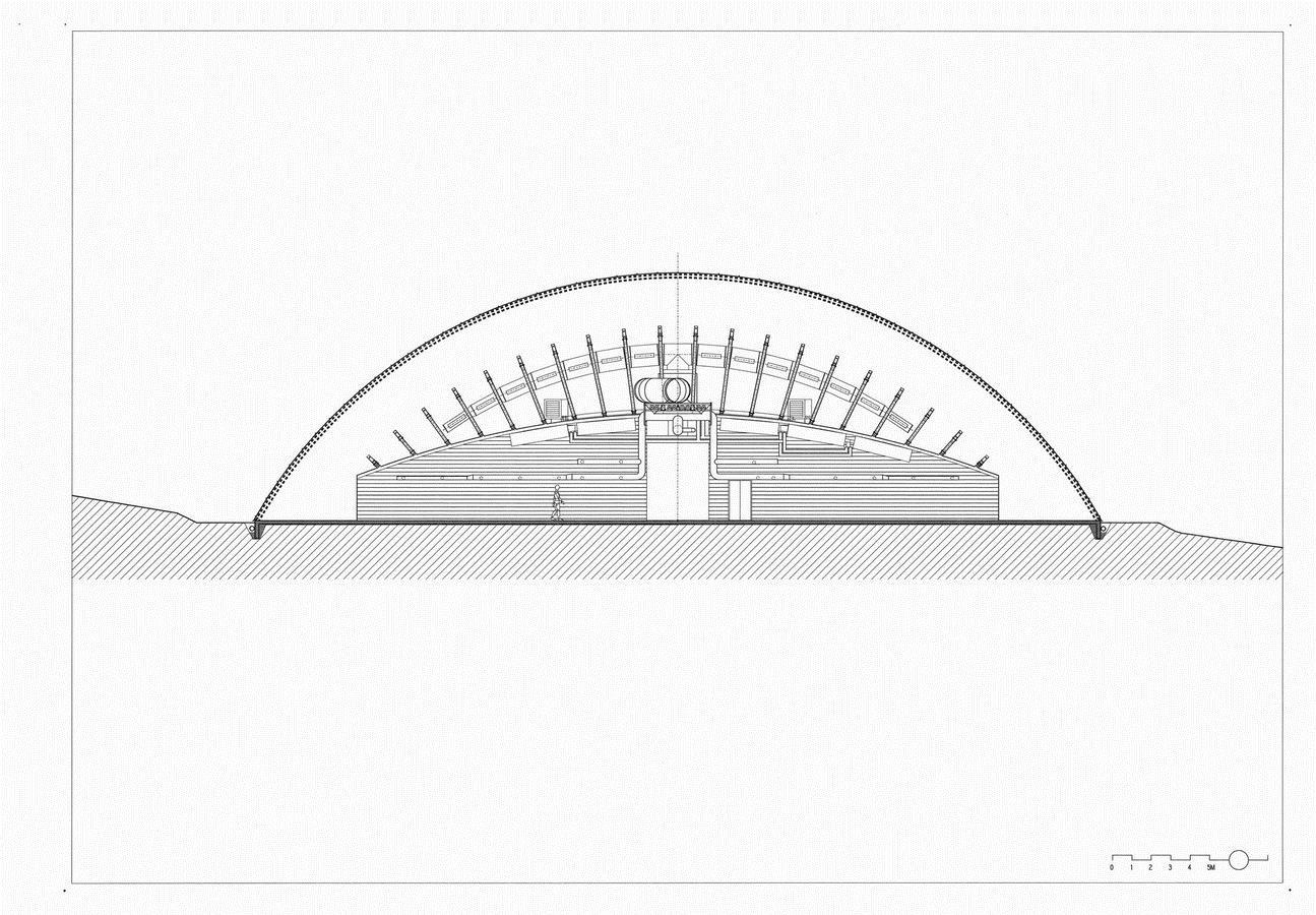 一颗嵌入大地的琉璃鹅卵石——比利时品牌木材工业基地