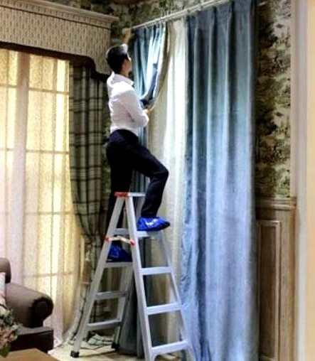 """年底洗窗帘,到底能不能用""""洗衣机""""洗?家政的一句话,点醒我了"""