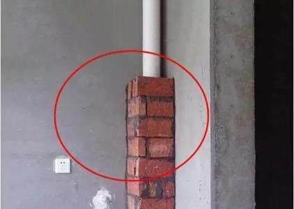 厨卫包立管为什么用红砖而不用青砖?听老师傅一说
