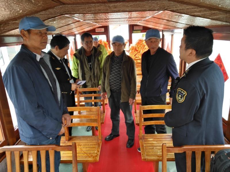 宁波76艘客渡运船舶安全投入水上春运