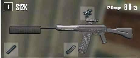 绝地求生:如果没有配件,AKM就会是S级武器而它直接成为SSS级