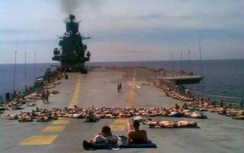 监守自盗!俄航母上两名军人长期盗窃贵金属元件,损失百万卢布
