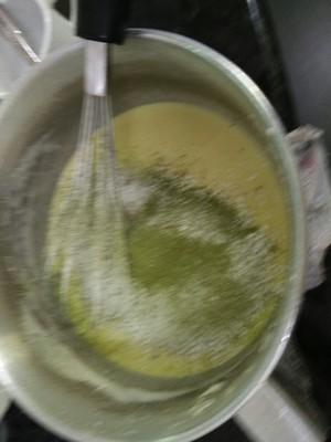 绿茶轻乳酪蛋糕的做法